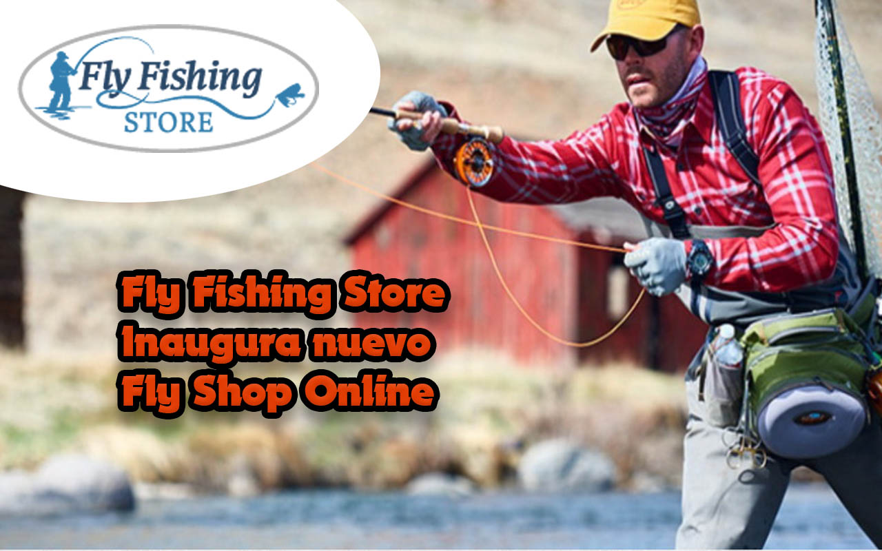 Fly fishing store inaugura nuevo fly shop online fly for Fly fishing stores